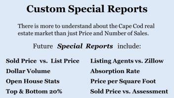 Bill Silver Cape Cod Real Estate Market SPECIAL reports